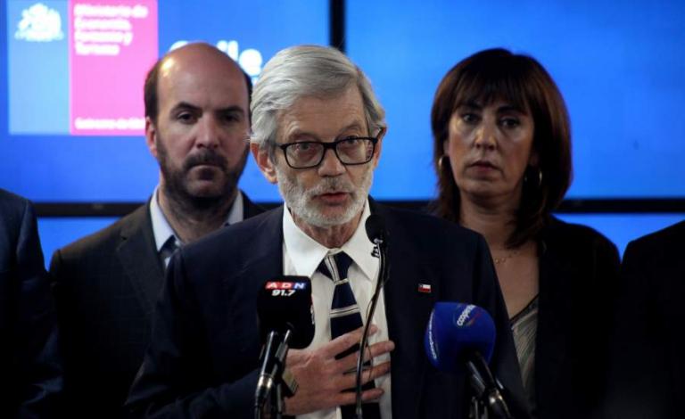 Ministro Fontaine anunció una nueva plataforma para catastrar a Pymes afectadas por hechos de violencia