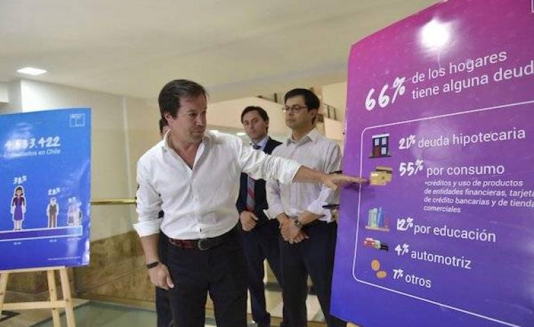 Gobierno anuncia medidas para enfrentar endeudamiento de los chilenos